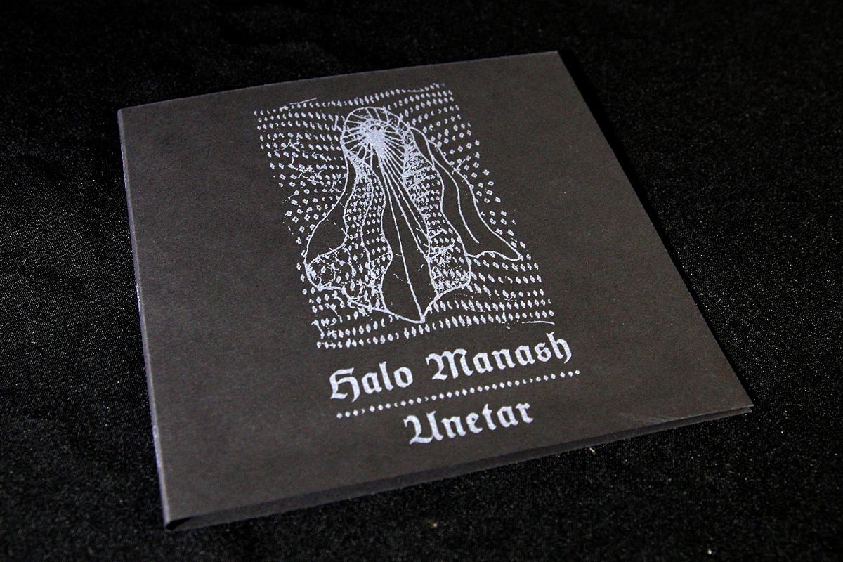 """Halo Manash """"Unetar"""" -julkaisun painonäyte"""