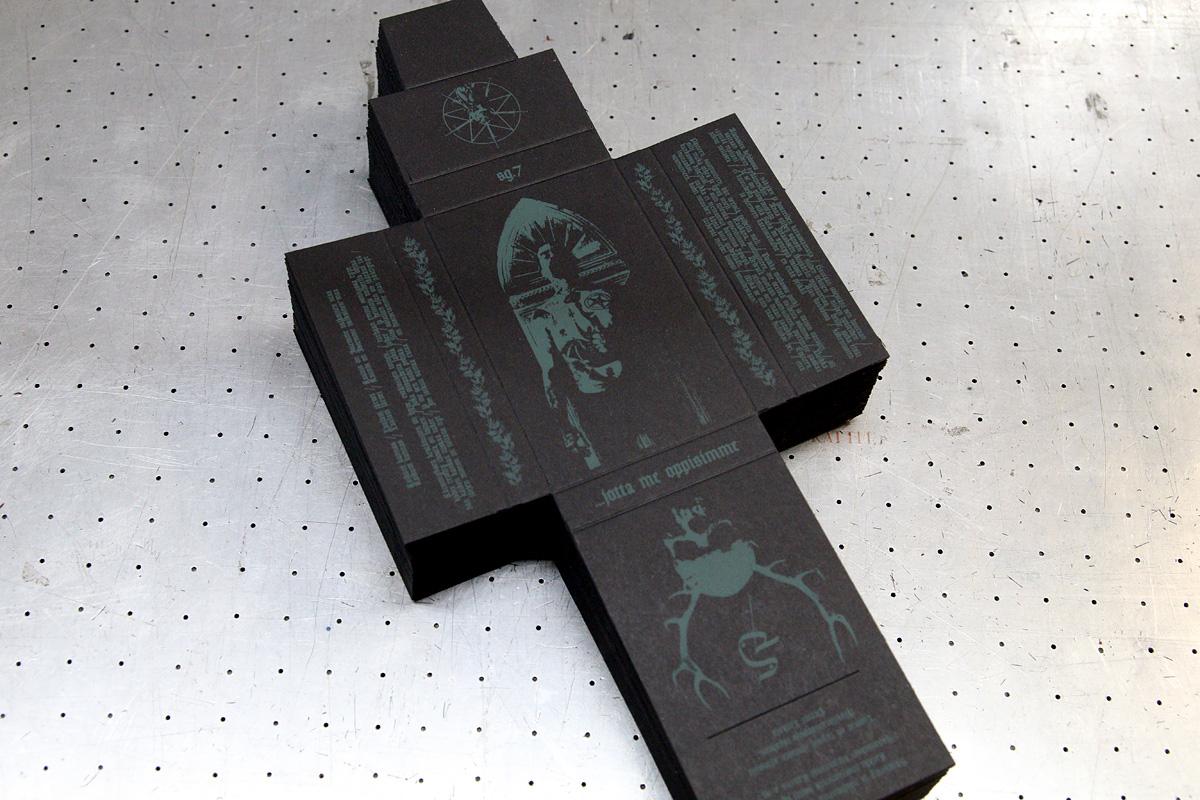 Sg 7 - painetut kasettikotelot