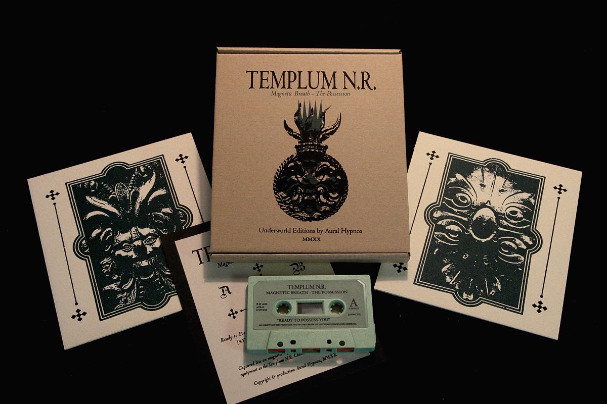 Templum N.R. - kasettijulkaisun painatustyöt valmiina
