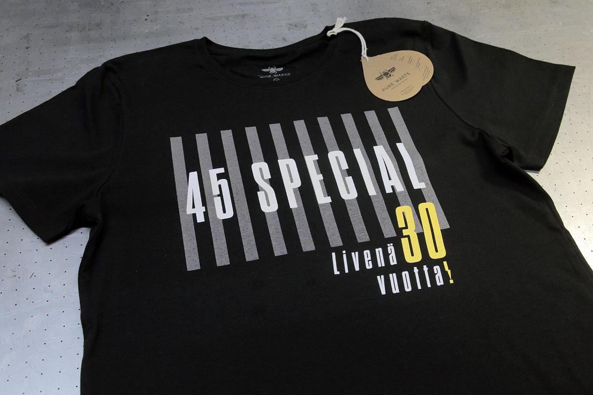 45 Special Oulu - 3-väri, silkkipainettu t-paita