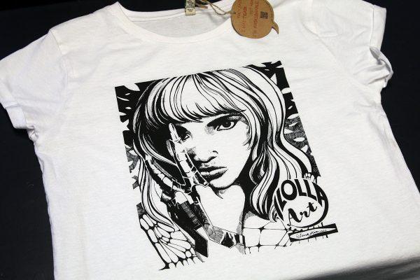 Ilolla Art - silkkipainettu t-paita