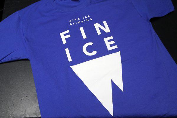 FIN ICE - silkkipainettu t-paita