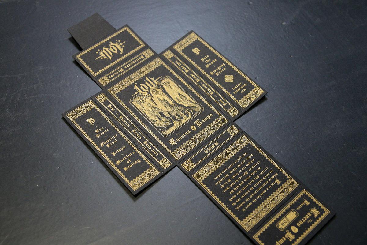 Lovi - silkkipainettu kasettikansi