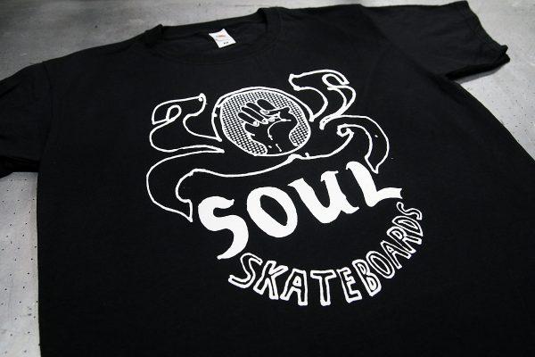 Soul Skateboards - silkkipainettu t-paita